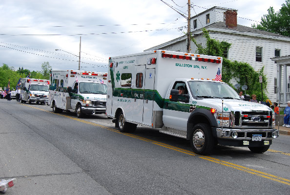 Community Emergency Corps, Ballston Spa, NY 12020 - Parade